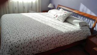 cama y colchon viscoelastico