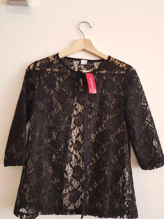 Blusa negra Yamamay S Nueva