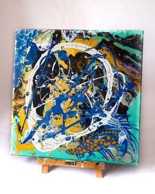 Cuadro abstracto contemporáneo