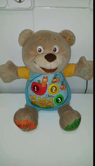 Osito Parlanchin Teddy Chicco