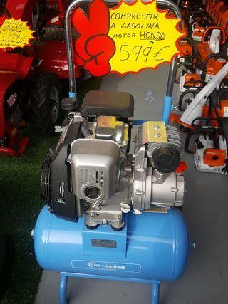 compresor a gasolina motor honda