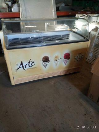 vitrina helados nevera congelador