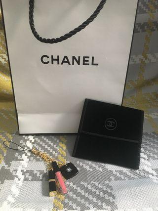 Colgante cosméticos Chanel auténtico