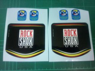 kit pegatinas rock shox sid