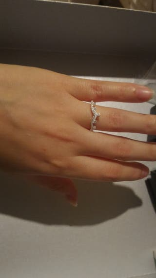precioso anillo plata
