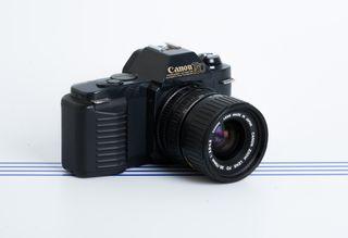 Canon T50 con Canon FD Zoom 35-70mm