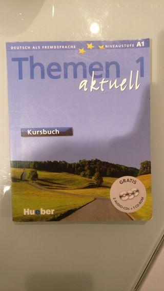 Libros de idiomas (Alemán A1, inglés B1-B2)