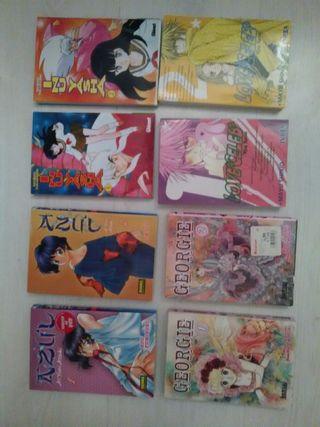 Lote 8 cómics japoneses varios titulos