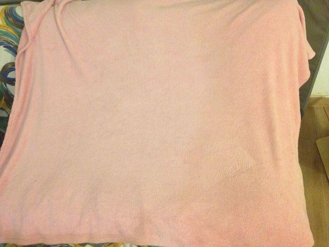 Manta rosa
