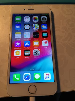 iPhone 6s 64 gigas plata