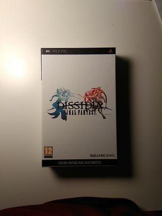 Final Fantasy Dissidia PSP Edición coleccionista