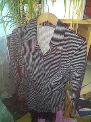 Camisa rayas talla L