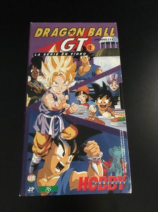 VHS Dragon Ball GT Episodios 3 y 4