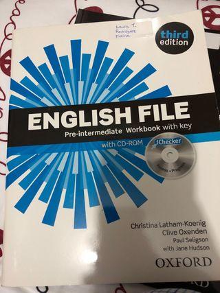 Libro de inglés English file