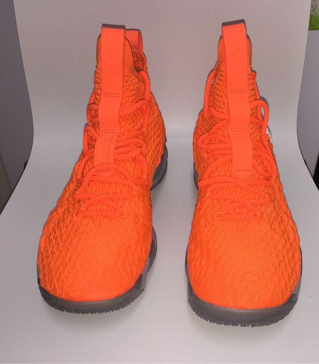 best service 044a0 b1f75 Lebron 15 KS2A (Orange) de segunda mano por 350 € en Madrid ...