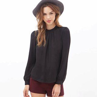 Blusa negra talla M NUEVA