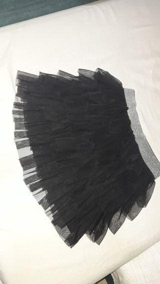 falda volantes fiesta
