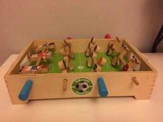 Futbolin de madera