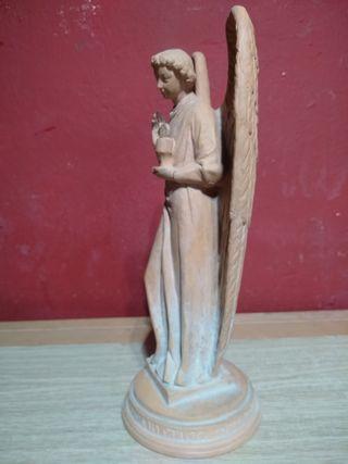 figura angel terracota