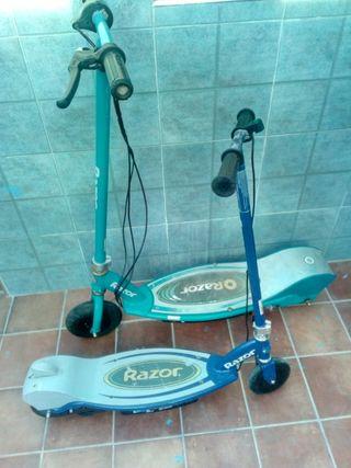 2 patinetes electricos