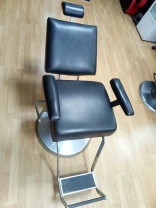 sillon de barbero o peluqueria