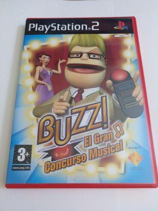 Buzz el gran concurso musical para ps2