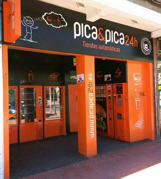 maquinas vending Picapica