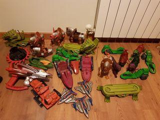 Masters del universo Motu Heman Mattel