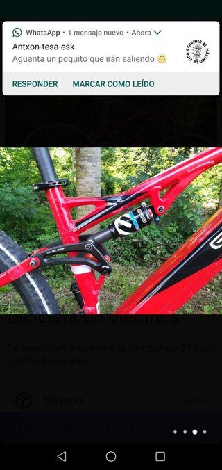 bicicleta electrica bh