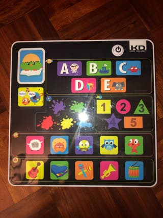 Mi primera tablet 1-3 años bilingue