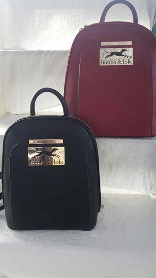 Bolsos y mochilas.