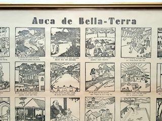 Cartell antic, Auca de Bella Terra de V. Castanys