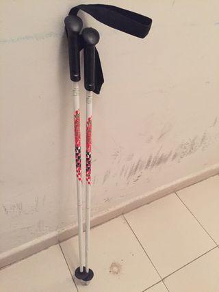 Bastones esquí niño niña