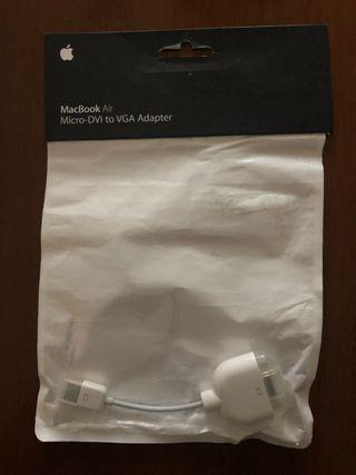 Adaptador MacBook Air Micro-DVI a VGA MAC Apple