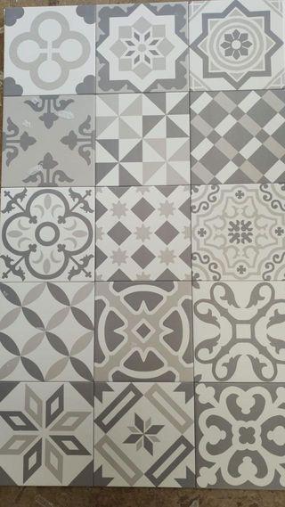 Gres mosaico 20x20 con tara(para suelo y pared)
