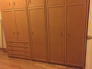 Armario de tres cuerpos montado en tu casa