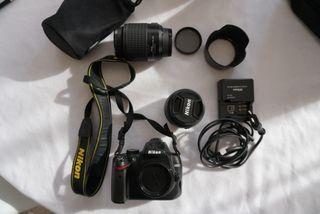Cámara dslr Nikon D5000 perfecto estado.