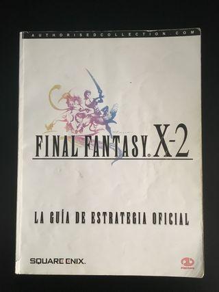 Guía Final Fantasy X-2 Completa Buen estado