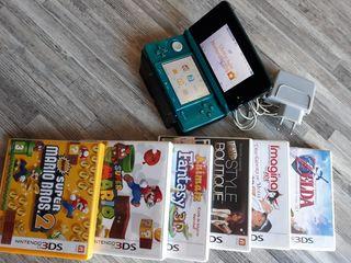 NINTENDO 3DS+ JUEGOS