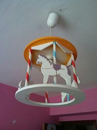 Lampara Infantil Carrusel Other