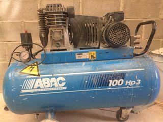 Compresor abac 100l 3cv