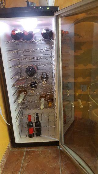 nevera para vino enfriador vino vinoteca Haier