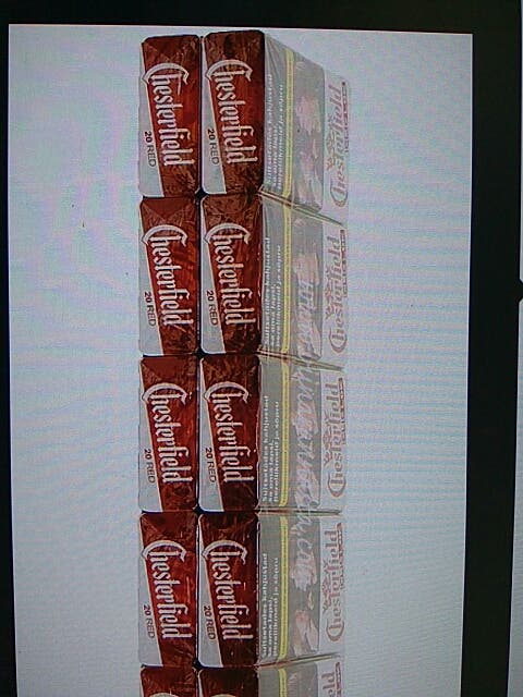 Chesterfiel red carton x 10 packs