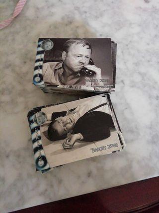 TWILIGHT ZONE 150 TRADING CARDS