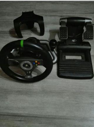 volante y pedales para xbox y pc