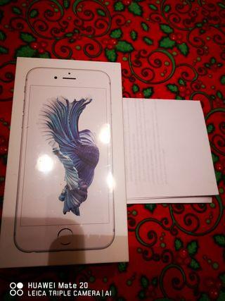 iPhone 6S plata 32GB (PRECINTADO)