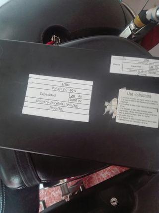 batería para patinete eléctrico