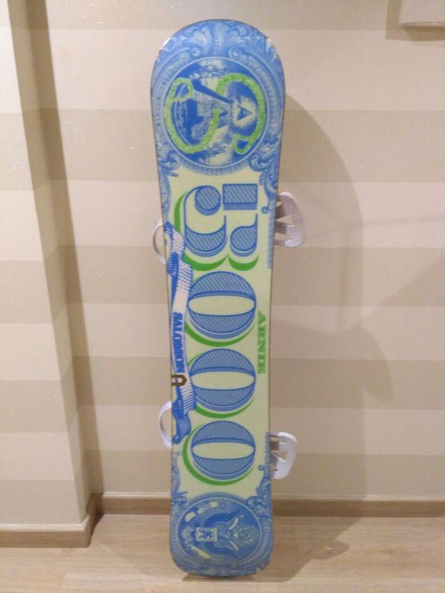 e648631d32f Tabla snow 154 cm + fijaciones de segunda mano por 300 € en ...