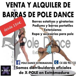 barras de pole dance
