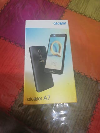 caja Alcatel A7